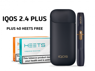 IQOS 2.4 PLUS NAVY AND 40 HEETS