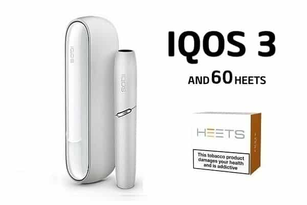IQOS 3 AND 60 HEETS WARM WHITE