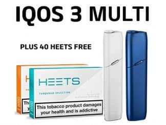IQOS 3 MULTI AND 40 HEETS
