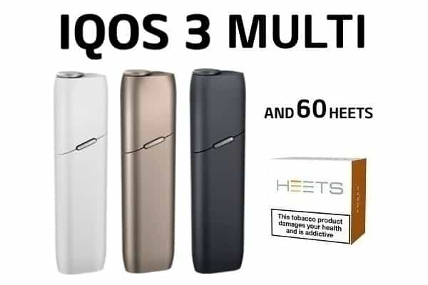 IQOS 3 MULTI AND 60 HEETS