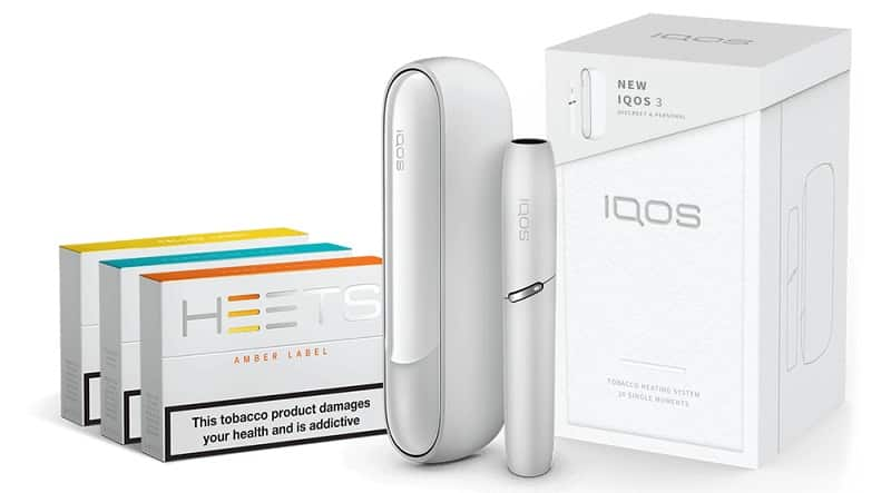 We are now selling iQOS and HEETS.