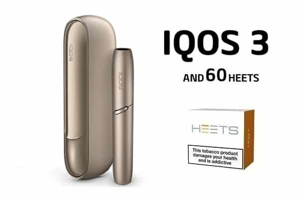 IQOS 3 AND 60 HEETS BRILLIANT GOLD
