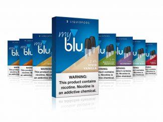 MyBlu Liquidpods 12 flavours