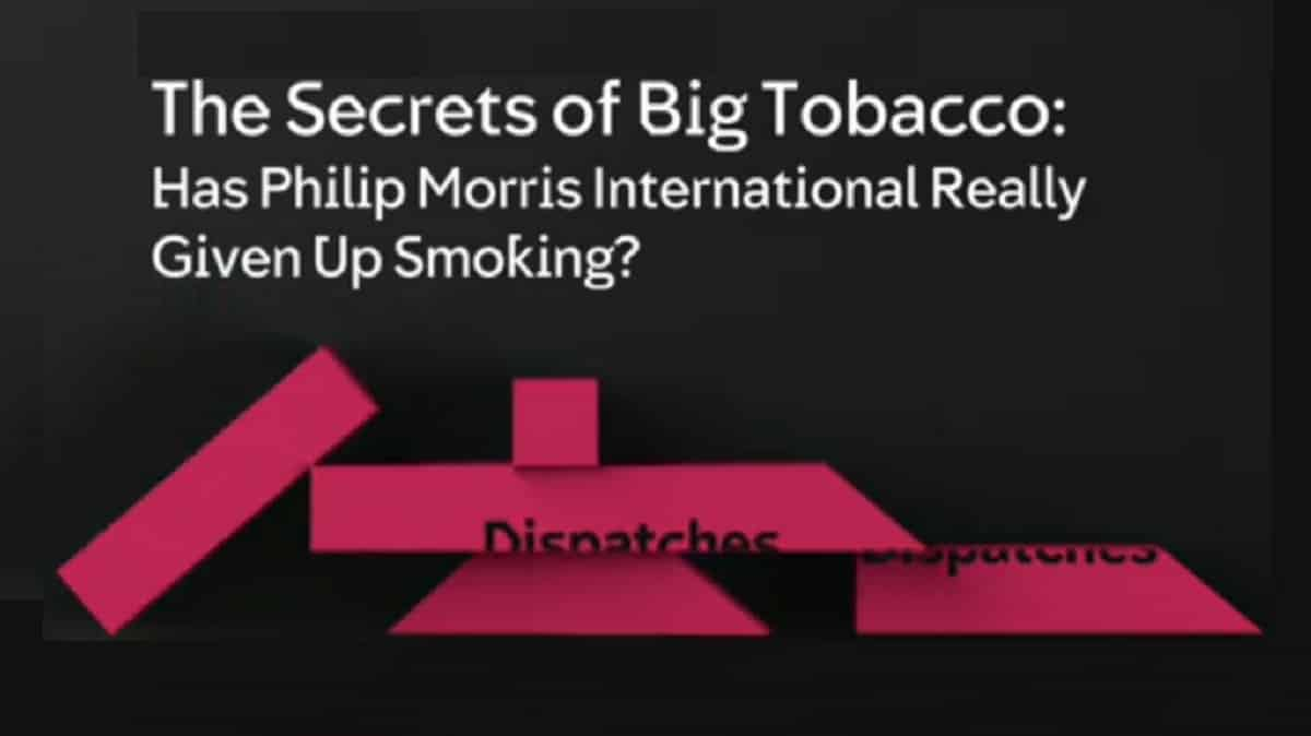 The Secrets Of Big Tobacco