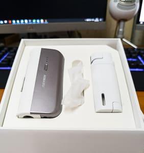 Himasu T5 Open Box Showing Device