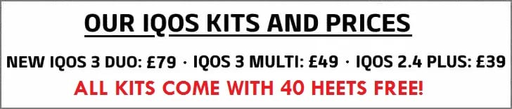 IQOS KITS AND PRICES BANNER