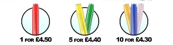 GeekVape Geek Bar Multi Buy Prices