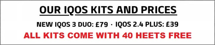 IQOS KITS AND PRICES