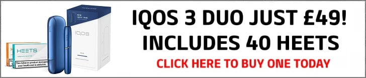 IQOS 3 DUO £49 BANNER