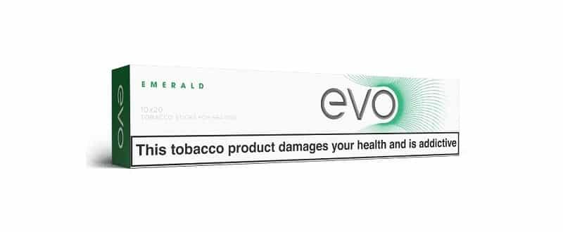 EVO Emerald Carton